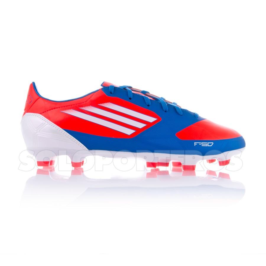 free shipping cf0e2 9060f Chaussure de foot adidas F30 TRX FG Bleu-Orange - Boutique de football  Fútbol Emotion