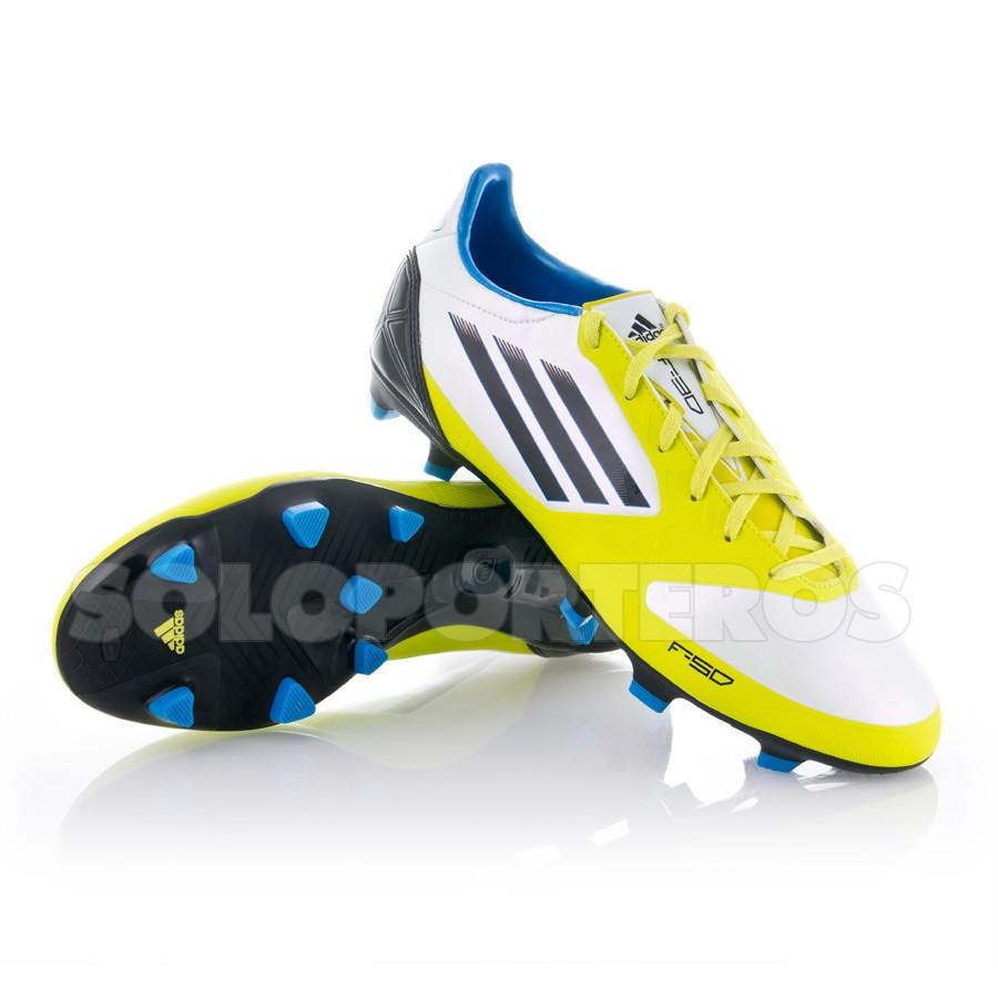 huge selection of 16e49 a0fe7 Bota de fútbol adidas F30 TRX FG Blanca-Lima - Tienda de fútbol Fútbol  Emotion
