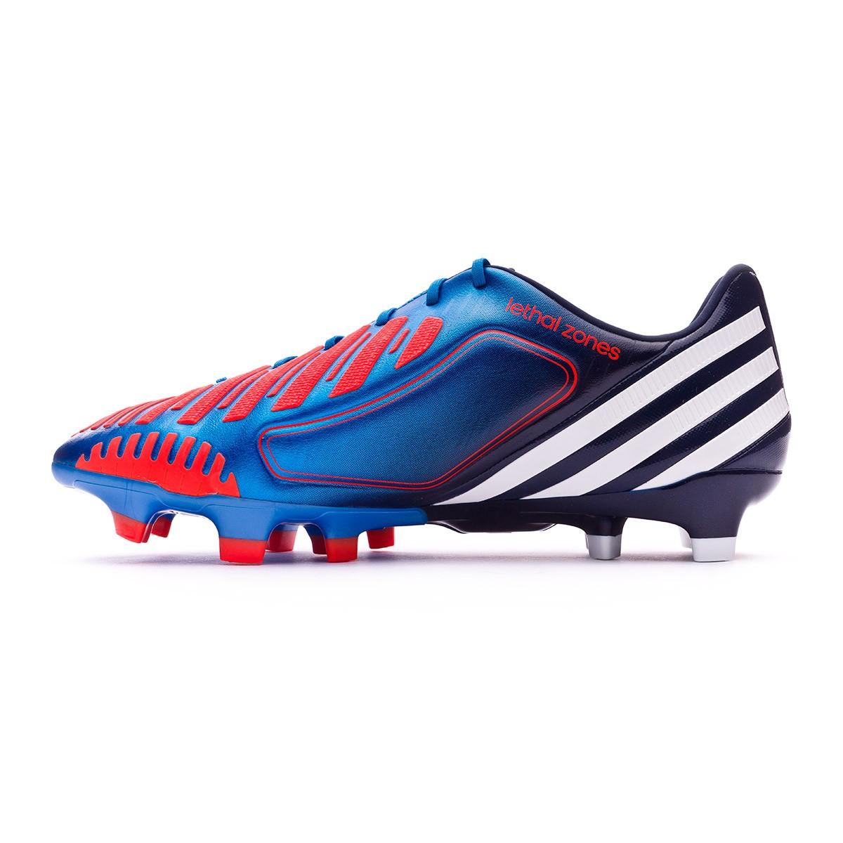 sale retailer 22bf3 190fb Bota de fútbol adidas Predator LZ TRX FG Azul-Blanco-Infrarrojo -  Soloporteros es ahora Fútbol Emotion