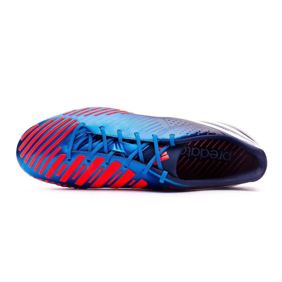 save off c5b83 8841f ... hot bota de fútbol adidas predator lz trx fg azul blanco infrarrojo  soloporteros es ahora fútbol