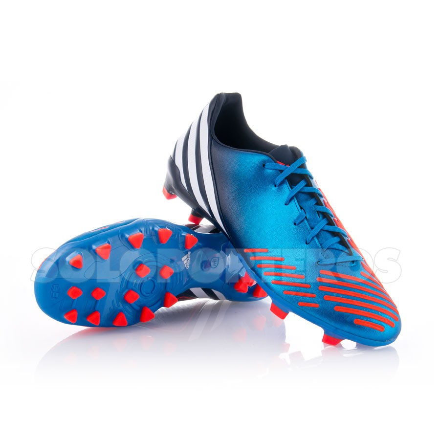 adidas Bota Predator Absolion LZ TRX FG Azul-Naranja Talla 6 UK th68wLWx
