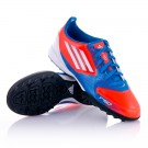 Chaussure Jr F10 TRX Turf Bleu-Orange