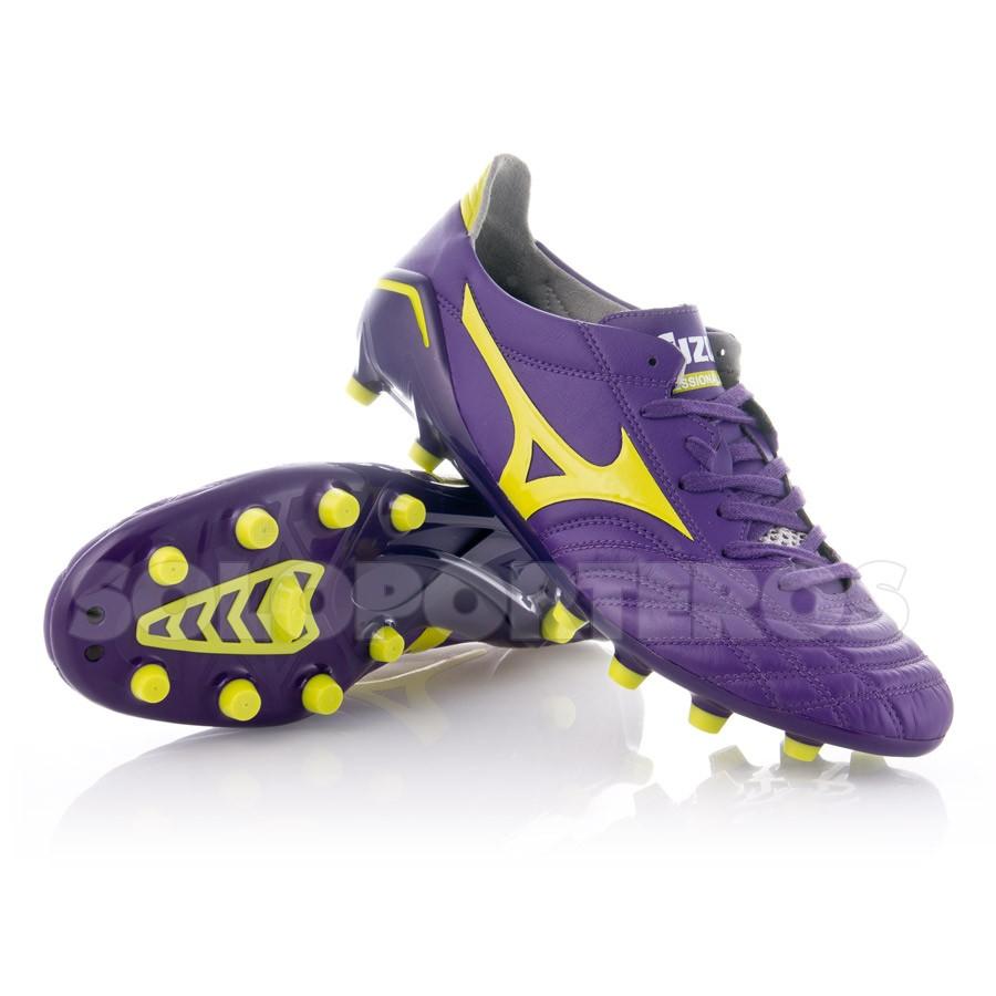 a4a37d2f5 Football Boots Mizuno Morelia Neo MD Purple-Yellow - Football store ...