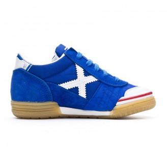 Chaussure de futsal Munich Gresca enfant  Bleu