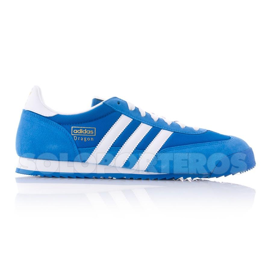 83f95515c Zapatilla adidas Dragon Azul-Blanca - Tienda de fútbol Fútbol Emotion