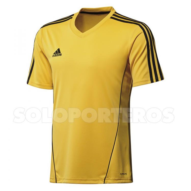 Camiseta adidas Estro 12 Amarilla-Negra - Soloporteros es ahora ... 62b32a6db821b