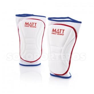 Knee pads  Matt Basic White