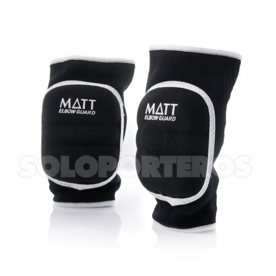 Cotoveleira  Matt Matt Rubber Preto