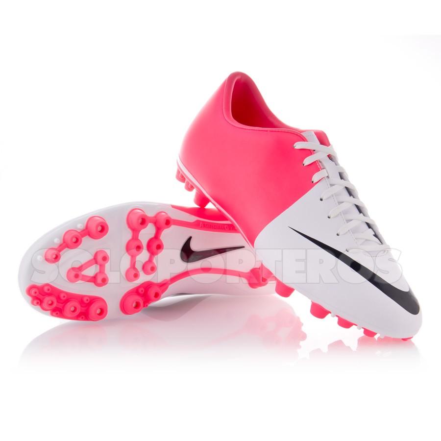 botas rosas de futbol