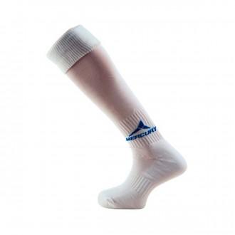 Football Socks Mercury Team White-Blue