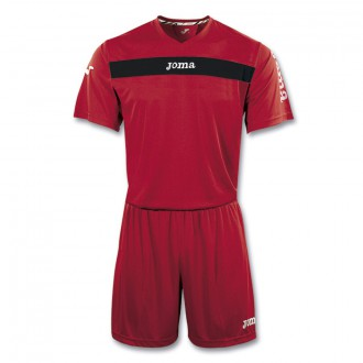 Kit  Joma Academy SS  Red-Black