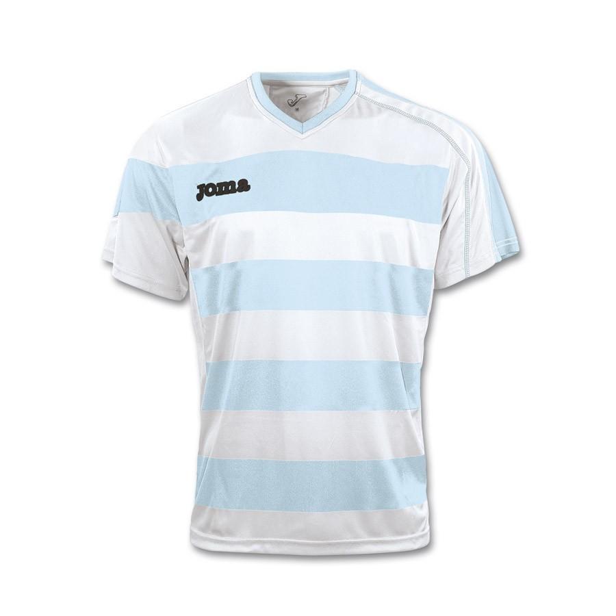d87764b7fa55a Camiseta Joma Europa Celeste-Blanca - Tienda de fútbol Fútbol Emotion