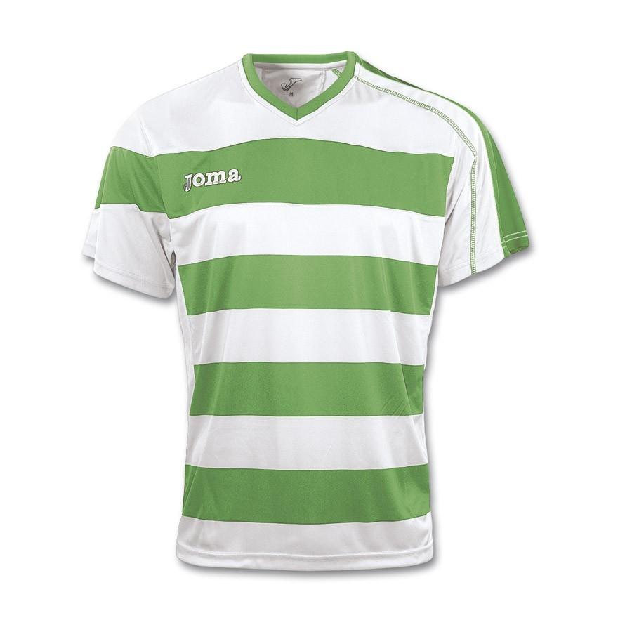 4fbd62575e1c2 Camiseta Joma Europa Verde-Blanca - Tienda de fútbol Fútbol Emotion