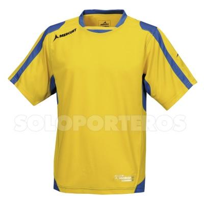 eeea8a172 Camiseta Mercury Roma Amarilla-Azul - Tienda de fútbol Fútbol Emotion