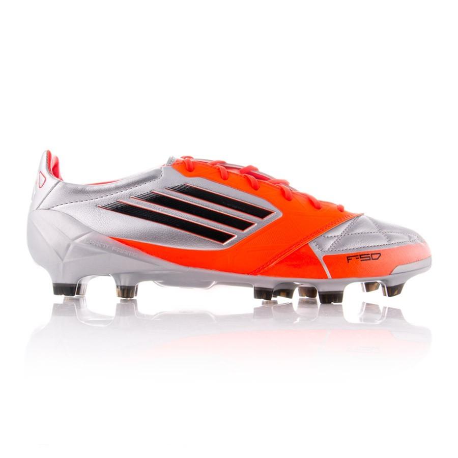online store 791bd d666e Zapatos de fútbol adidas F50 Adizero TRX FG Piel Plata-Naranja -  Soloporteros es ahora Fútbol Emotion