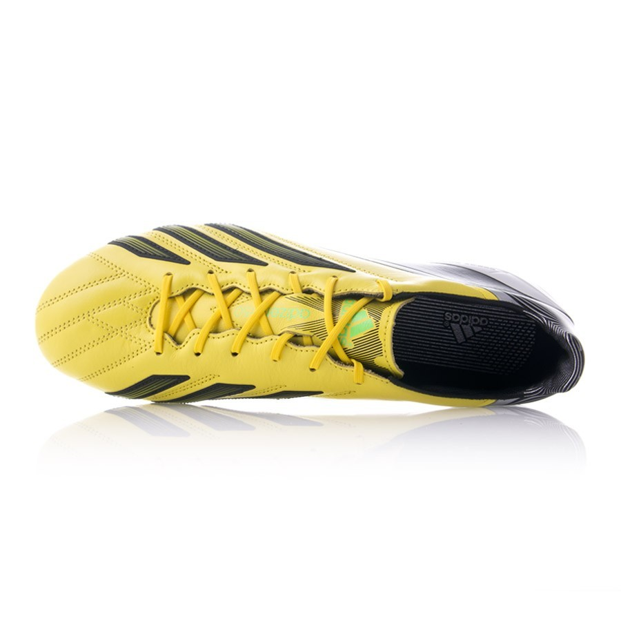 136e3d2d0f55 Football Boots adidas adizero F50 TRX FG Piel miCoach Yellow-Black - Football  store Fútbol Emotion