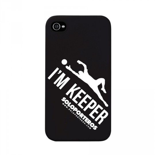 Cover  SP iPhone 4 and 4S I'm Keeper Matte Black