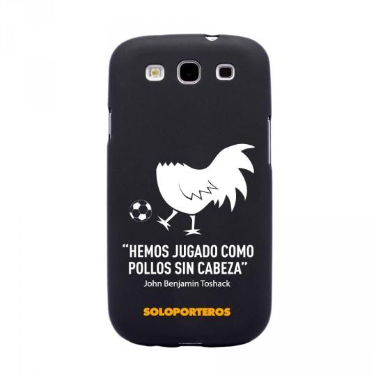 Cover  SP Samsung Galaxy S3 Pollo sin cabeza Negro mate