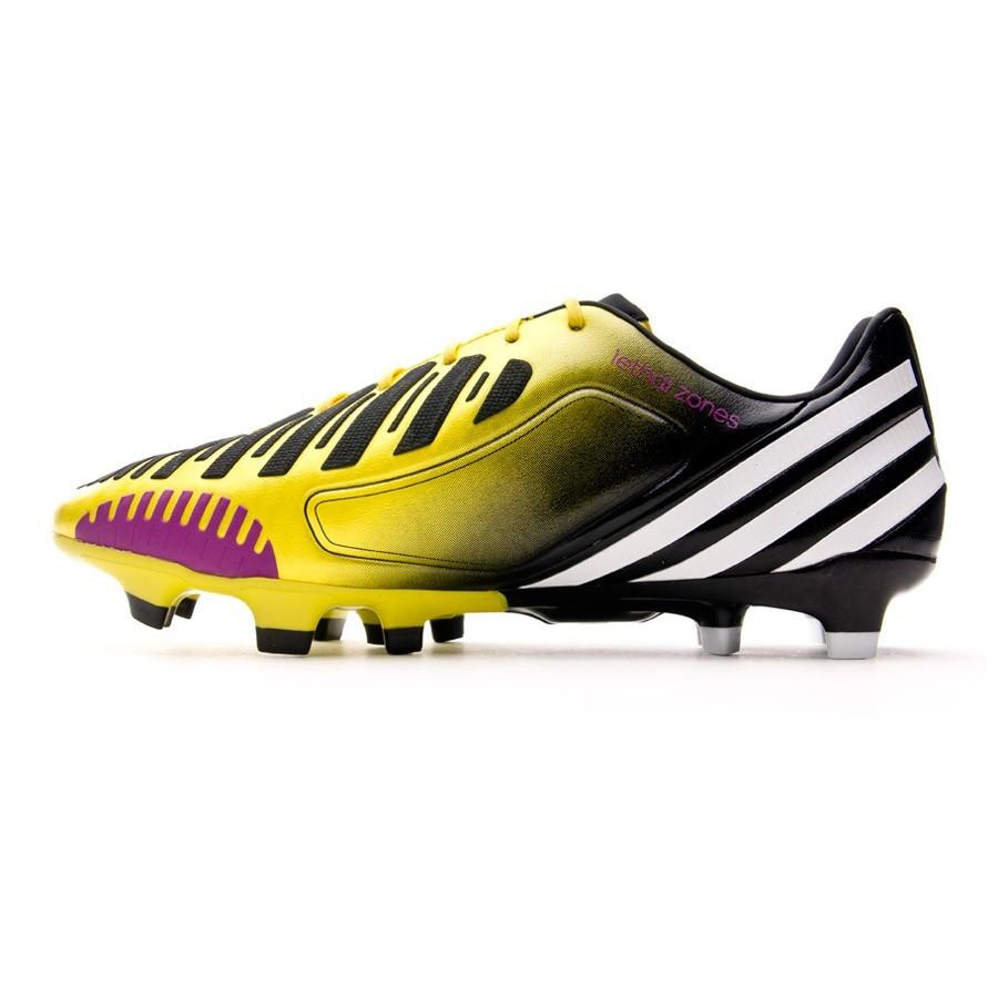 official photos c9cc3 3aab1 Football Boots adidas Predator LZ TRX FG Yellow-Black - Football store  Fútbol Emotion