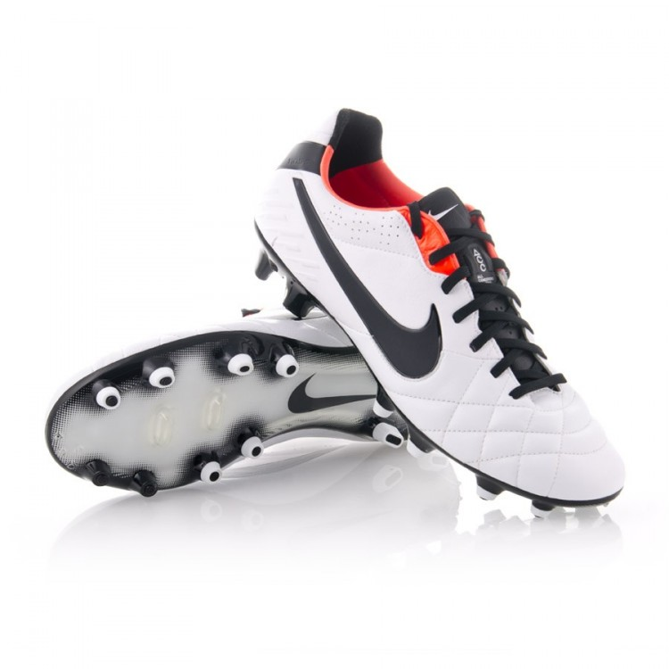 adb45af7e Football Boots Nike Tiempo Legend IV FG ACC White-Black - Football ...