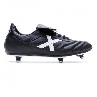 Football Boots Munich Mundial SG Black