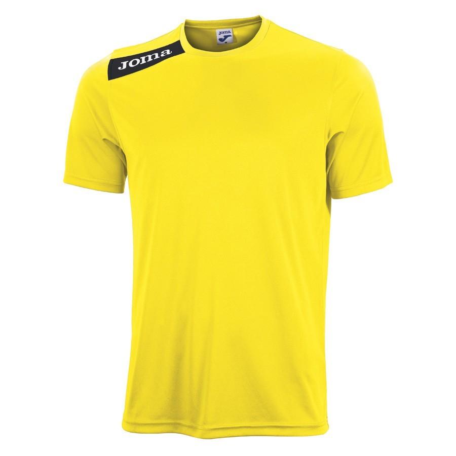 Camiseta Joma M C Victory Amarilla-Negra - Soloporteros es ahora Fútbol  Emotion 8f9fd9d5127d3