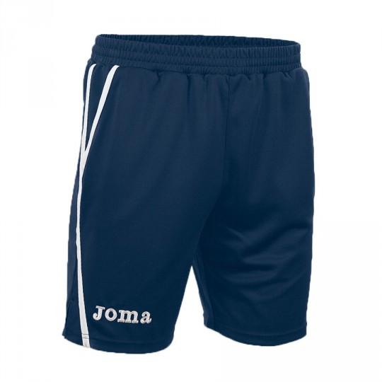 Pantalón corto  Joma Bermuda Game Marino-Blanco