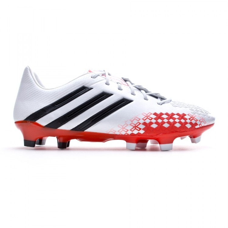 brand new c5211 3a081 bota-adidas-predator-lz-trx-fg-blanca-roja-