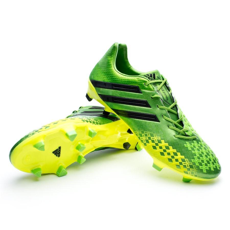 Periódico verdad personalidad  Football Boots adidas Predator LZ TRX FG Green-Black-Electricity - Football  store Fútbol Emotion