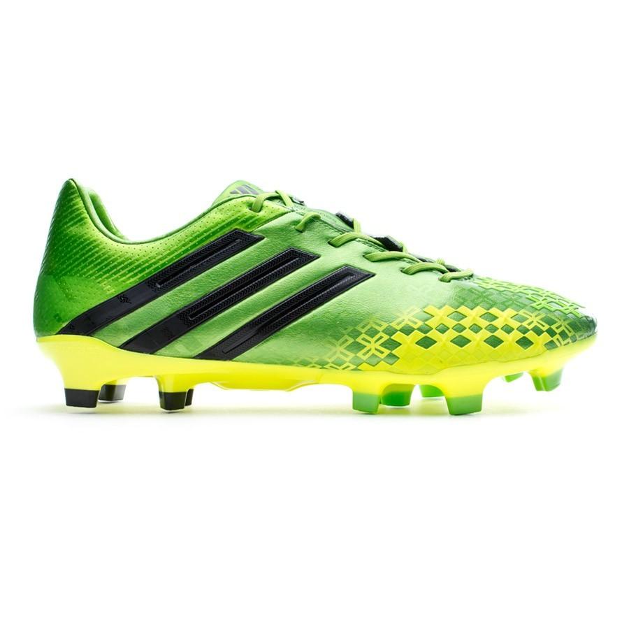 216e81bf2deb Football Boots adidas Predator LZ TRX FG Green-Black-Electricity - Football  store Fútbol Emotion