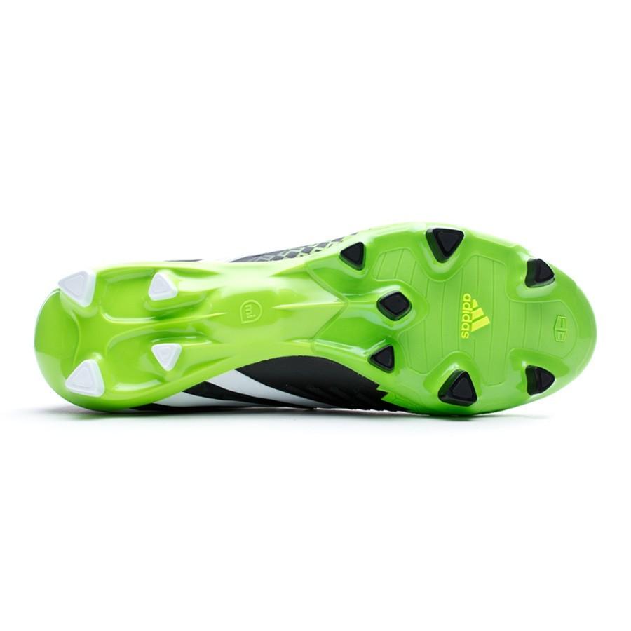 a0221e321bf5a Chuteira adidas Predator LZ TRX FG Preto-Verde - Loja de futebol Fútbol  Emotion
