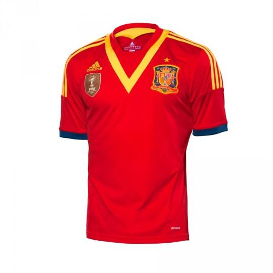 Camisola  adidas España FEF Vermelho