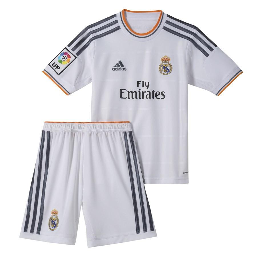 Conjunto adidas Real Madrid 13-14 Niño Blanco - Soloporteros es ahora  Fútbol Emotion eeca14e0d38cc