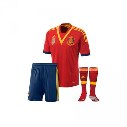 Conjunto  adidas Jr España 13-14 Vermelho