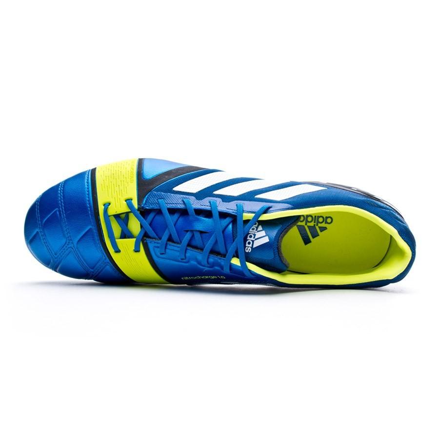 purchase cheap ba4fe 9bdcd Boot adidas Nitrocharge 1.0 TRX FG Blue-Electricity - Football store Fútbol  Emotion
