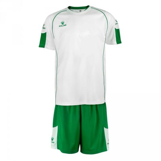 Conjunto  Kelme Marfil Blanco-Verde