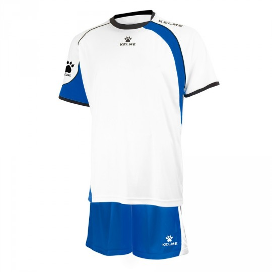 Conjunto  Kelme Cartago Blanco-Royal