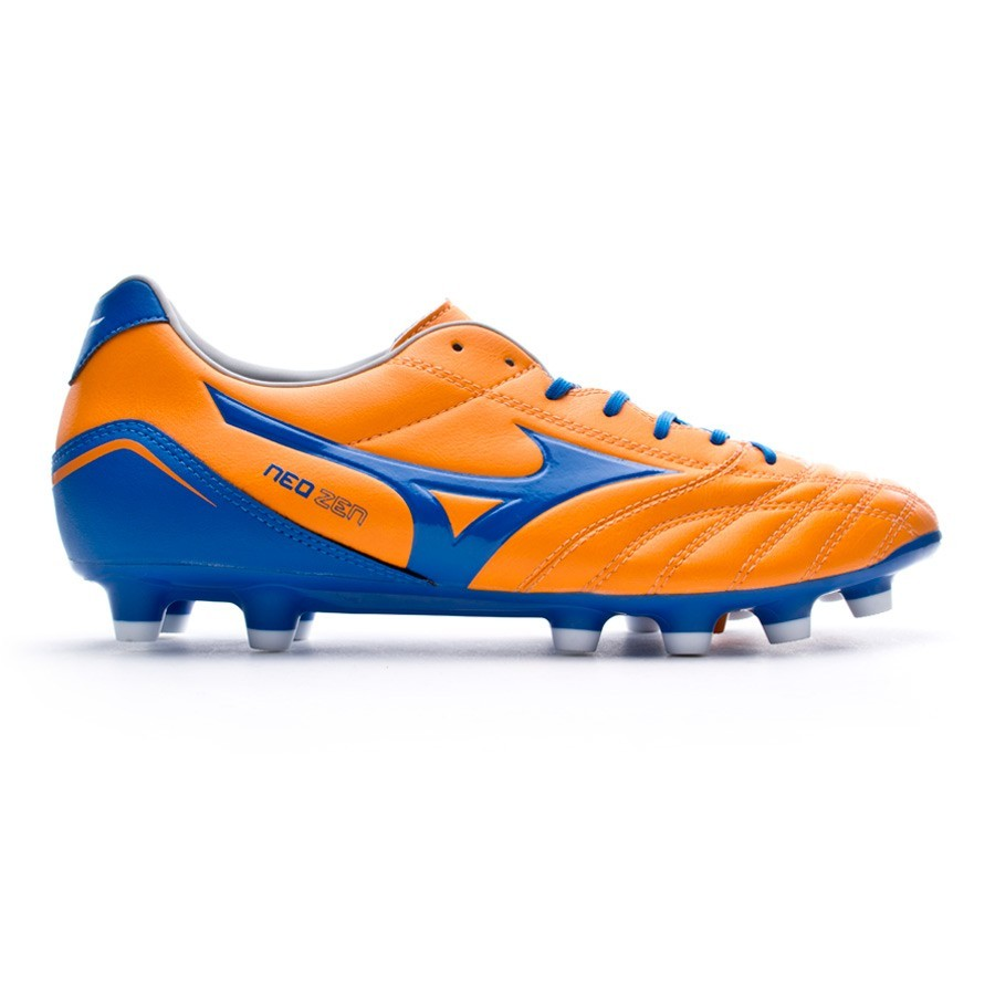 d91791d145f03 Football Boots Mizuno Neo Zen MD Orange-Blue - Football store Fútbol Emotion