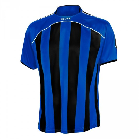 Camiseta  Kelme Liga Royal-Negra