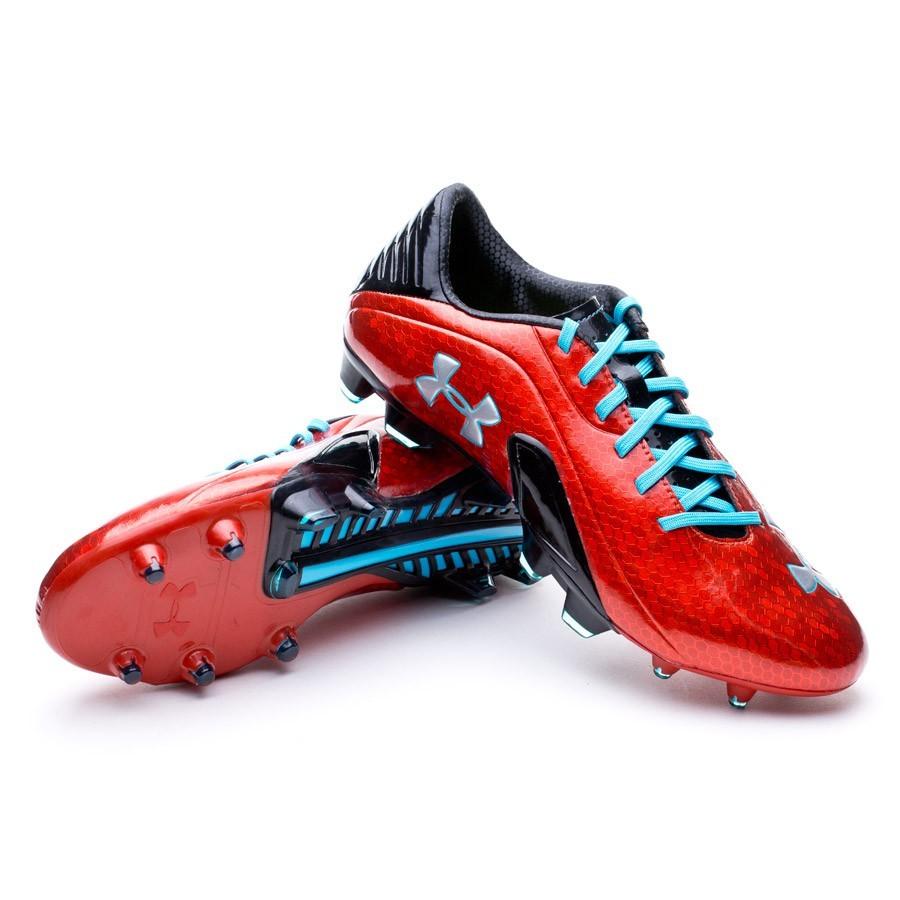 6686add91be Bota de fútbol Under Armour Blur III FG Roja-Negra-Azul - Tienda de fútbol  Fútbol Emotion