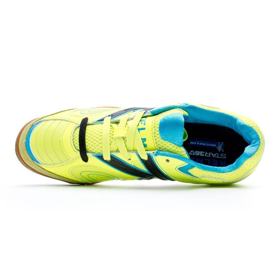 074fd5d9549 Futsal Boot Kelme Star 360º 2.0 Lime-Turquoise - Football store Fútbol  Emotion