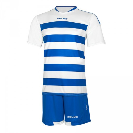 Conjunto  Kelme Glasgow Blanco-Royal