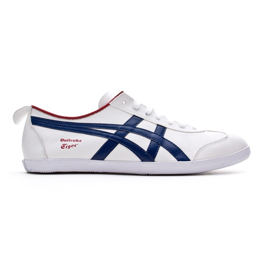 96e2eaaa6a7ce Trainers Onitsuka Tiger Mexico 66 Vulc White-Navy Blue - Football store  Fútbol Emotion