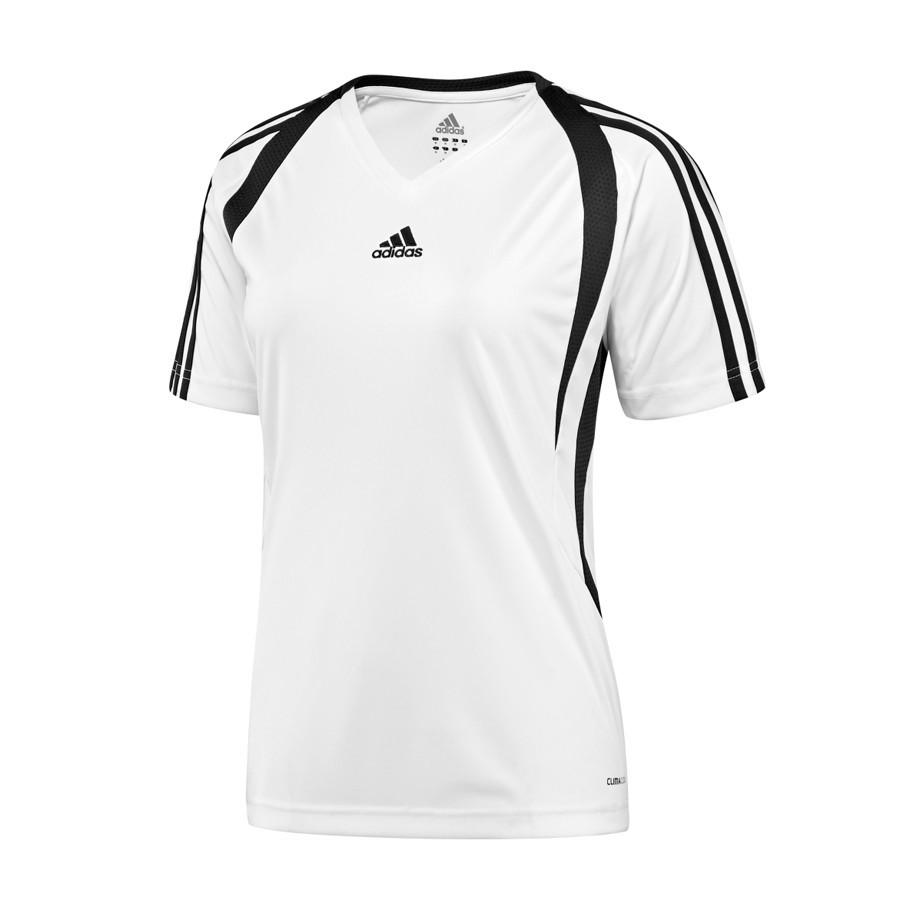 9298ca7c4e46d Playera adidas Mujer Tiro Blanca-Negra - Tienda de fútbol Fútbol Emotion