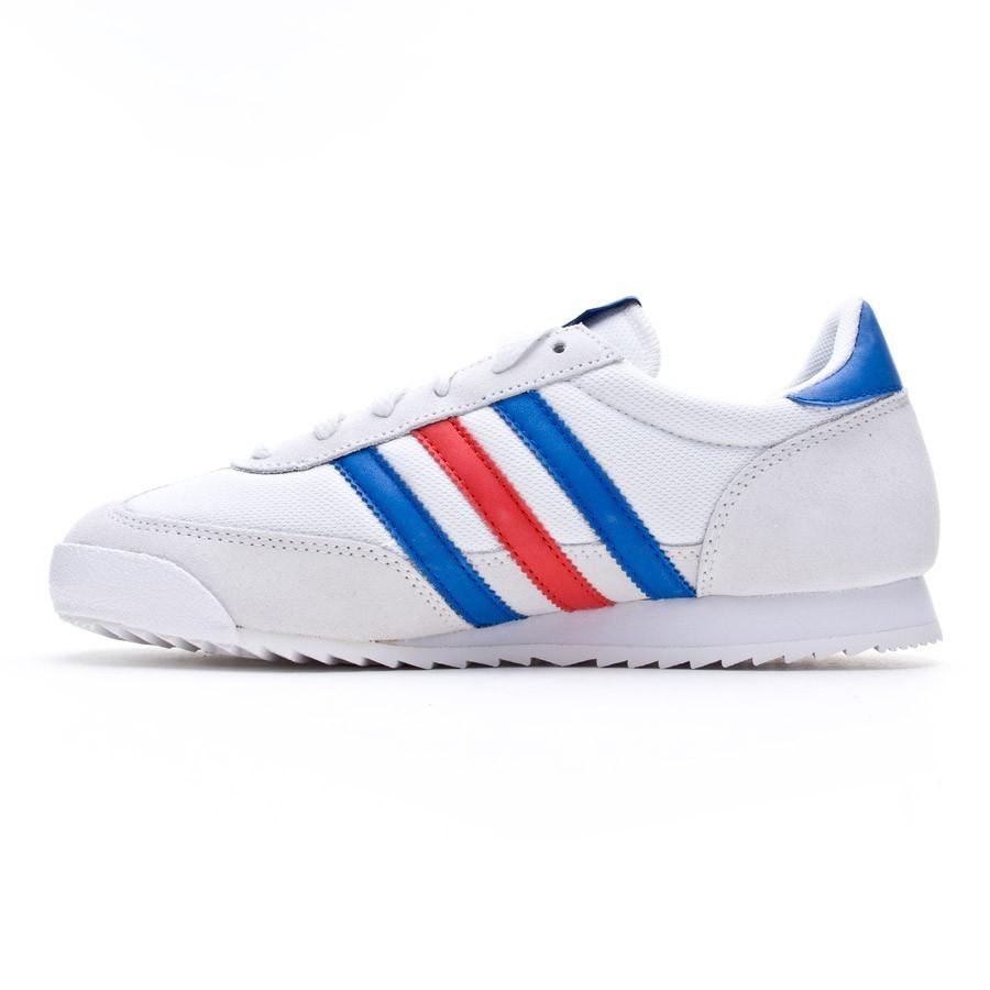 9af8756a Tenis adidas Dragon Niño Blanca-Azul-Roja - Tienda de fútbol Fútbol Emotion