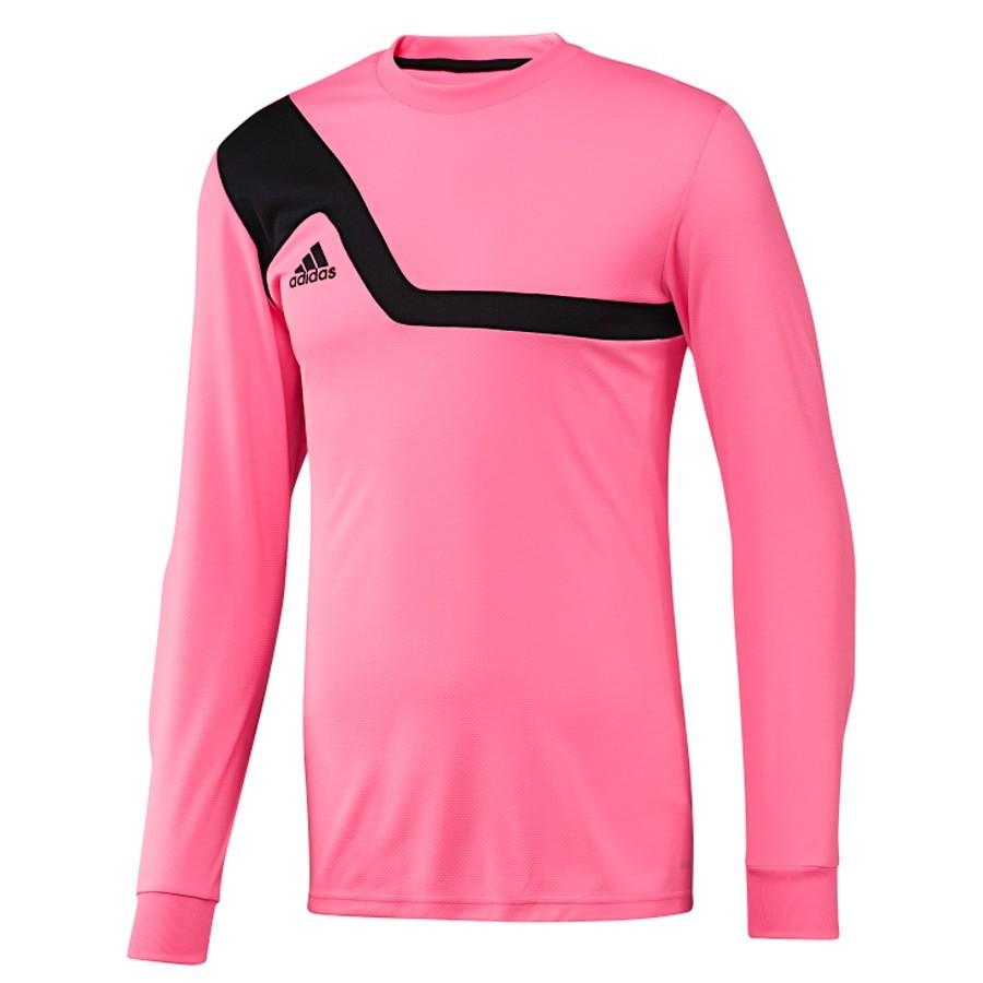 camiseta adidas rosa y negra