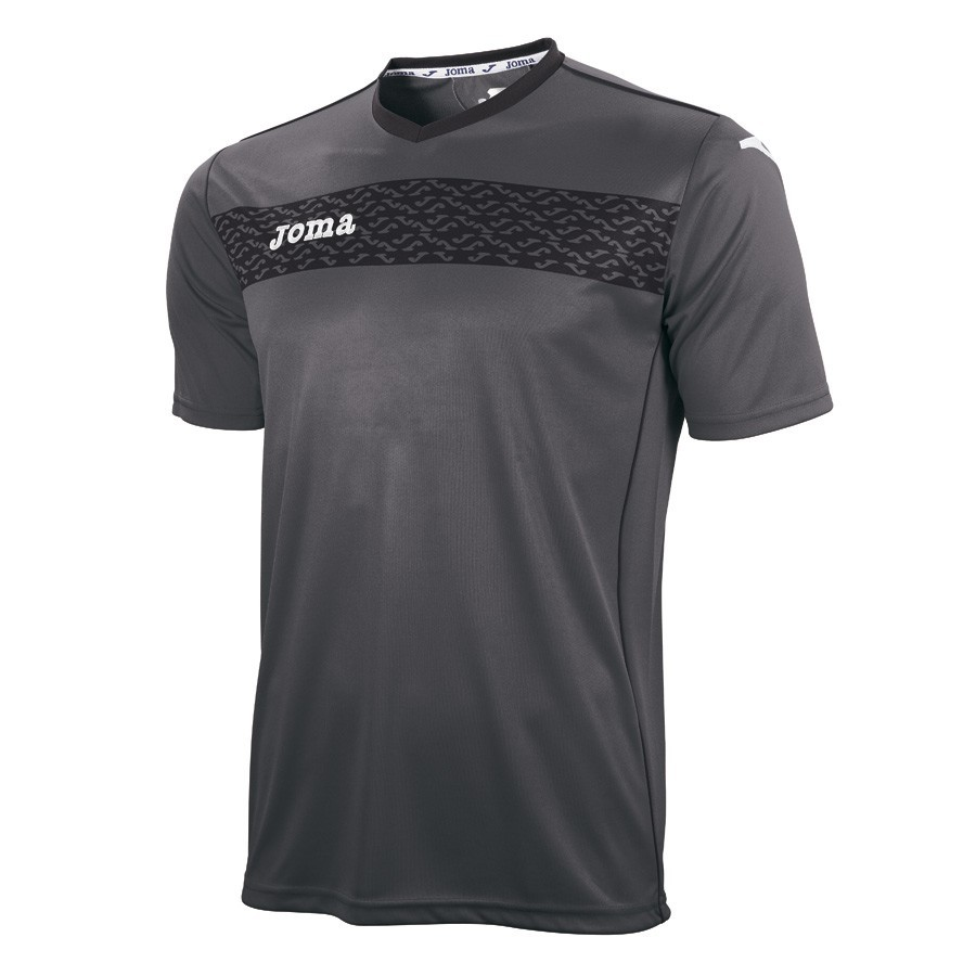 0c70d0ea89 Camiseta Joma Liga II Gris-Negra - Soloporteros es ahora Fútbol Emotion