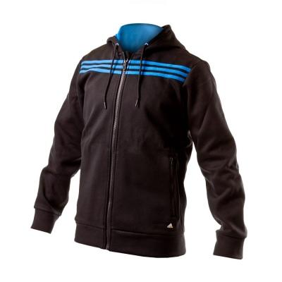 78b069d3887e Sweatshirt adidas SF 3S FZ HOOD Black - Football store Fútbol Emotion