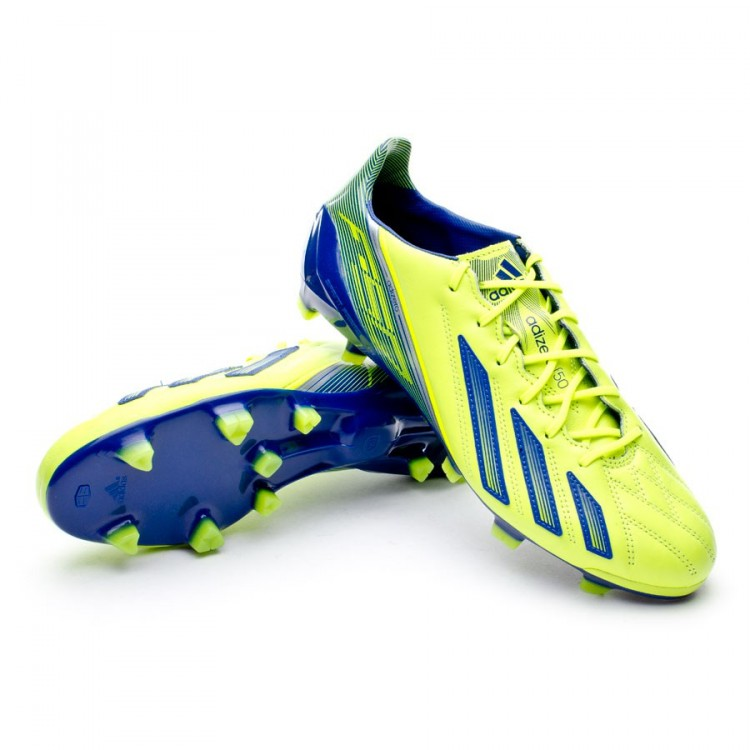 Zapatos de fútbol adidas adizero F50 TRX FG Piel Electricity ... a144f2bcaa6af
