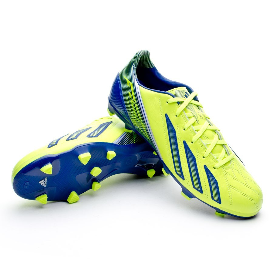 Boot adidas F30 TRX FG Piel Electricity - Football store Fútbol Emotion 803cbbde80861